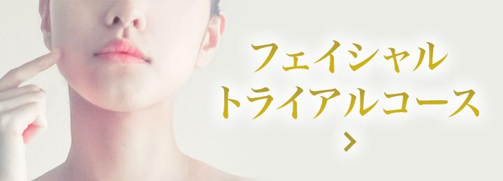 渋谷のエステで人気の痩身専門エステサロン | フェイシャルトライアルコース